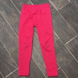 Derek Heart Bottoms - Girls pink leggings S/M